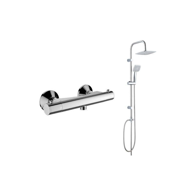 Sprchový set OMNIRES MINI + Kuchinox chromovaný MI1546 + PG7 20 KX