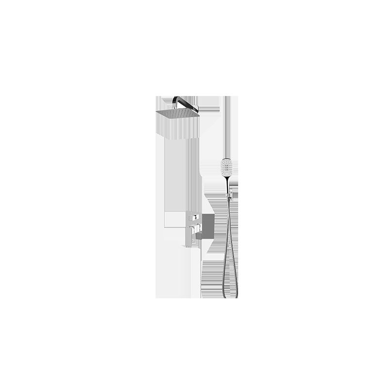 Sprchový set podomítkový OMNIRES PARMA chromovaný SYS PM10