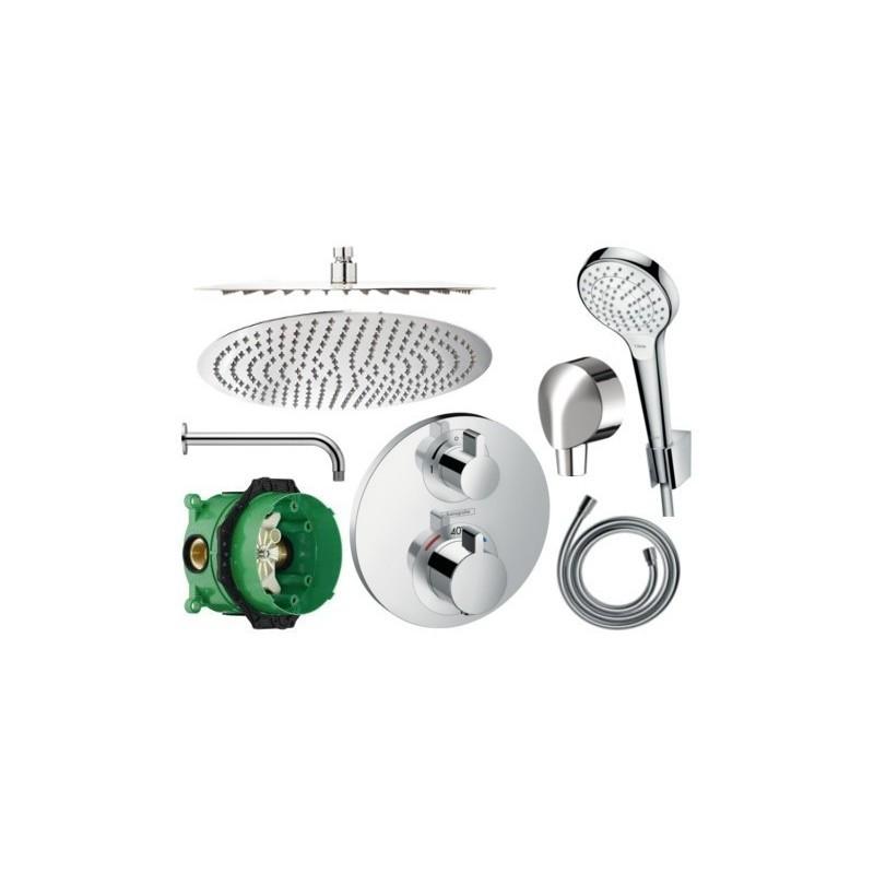 Sprchový set podomítkový HANSGROHE TERMOSTAT 40 CM (mix výrobců)