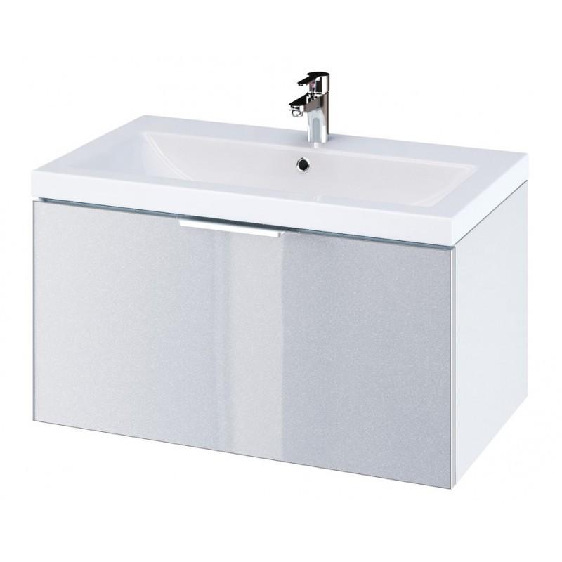Umyvadlová skříňka CERSANIT STILLO - šedý odstín