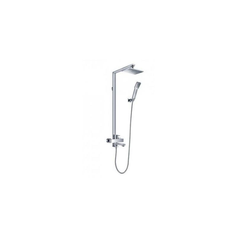 Sprchový set na stěnu OMNIRES DARLING chromovaný DA5034