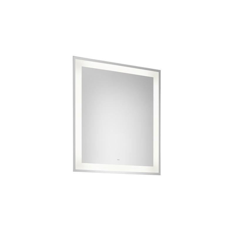 Koupelnové zrcadlo s LED osvětlením ROCA IRIDIA 80x70 cm