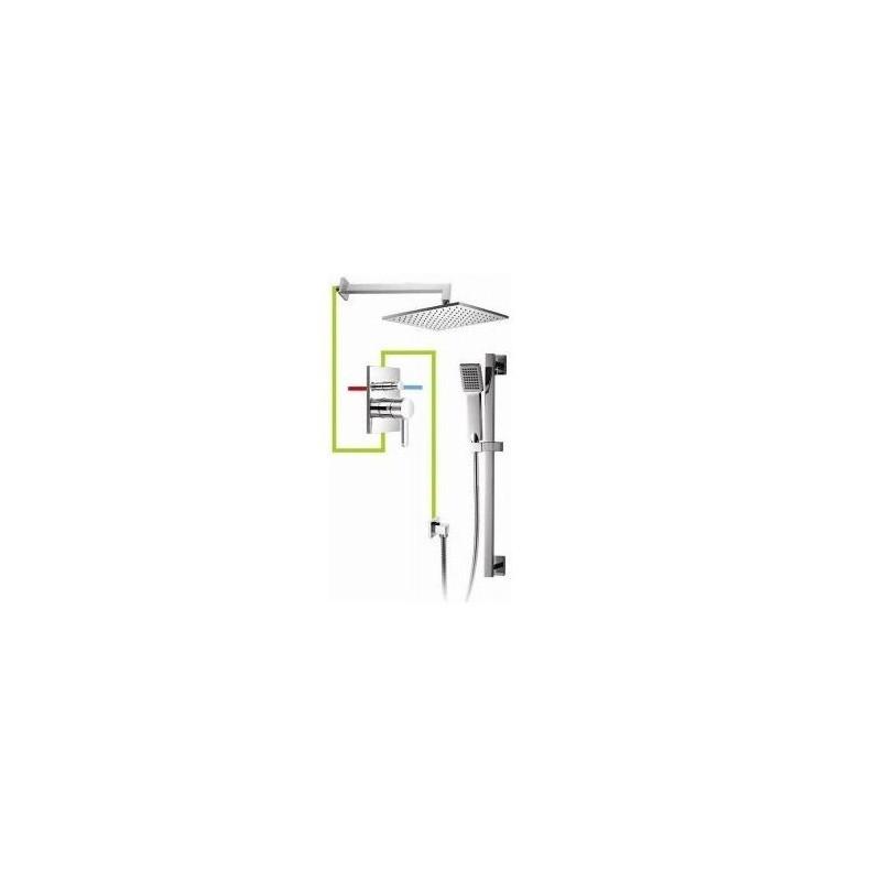 Sprchový set podomítkový OMNIRES DARLING chromovaný SYS 12A