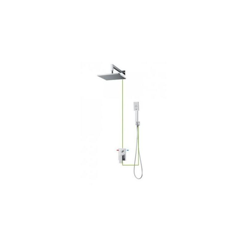 Sprchový set podomítkový OMNIRES FRESH chromovaný SYS FR10