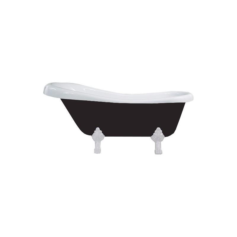 Vana MEXEN RETRO 150x73 černobílá