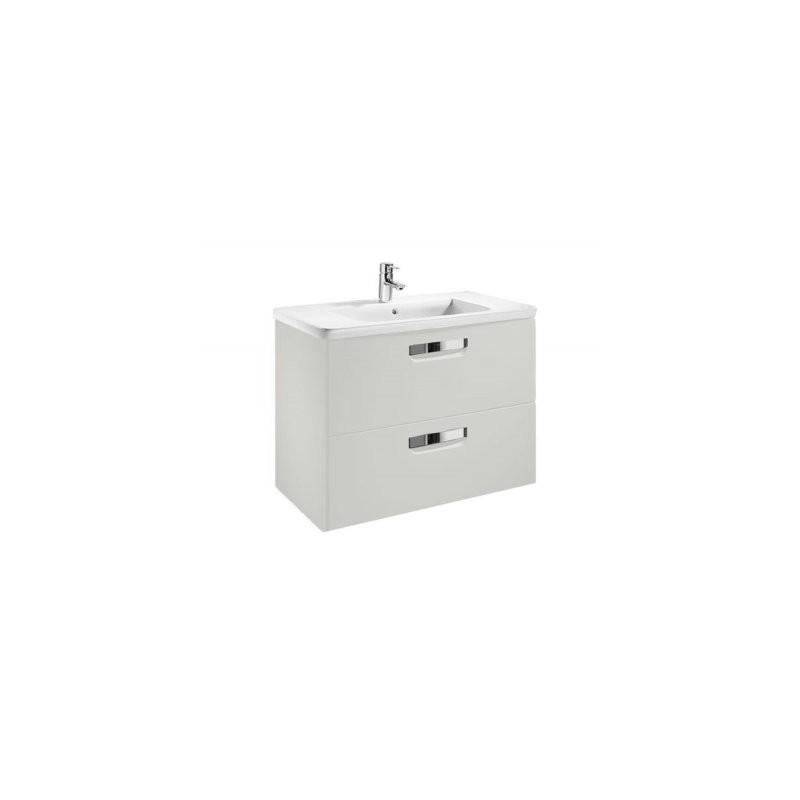 Umyvadlová skříňka s umyvadlem ROCA GAP bílá
