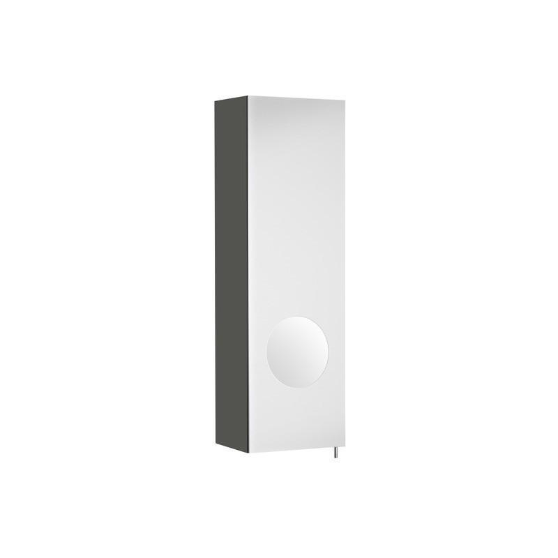 Koupelnová skříňka se zrcadlem ROCA LUNA - antracit