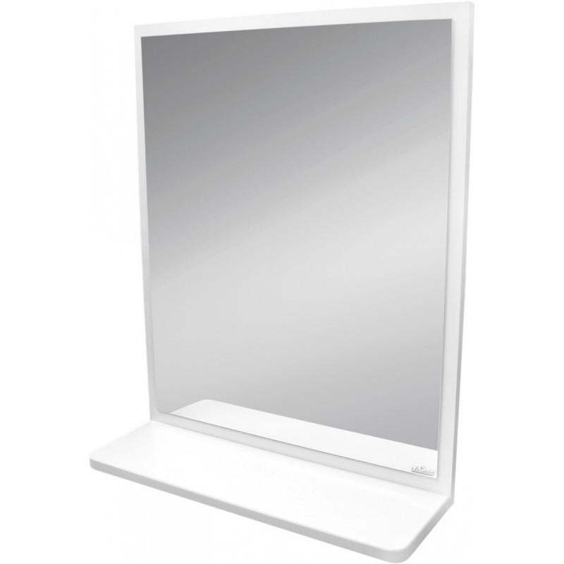 Koupelnové zrcadlo s policí CERSANIT ALPINA bílé