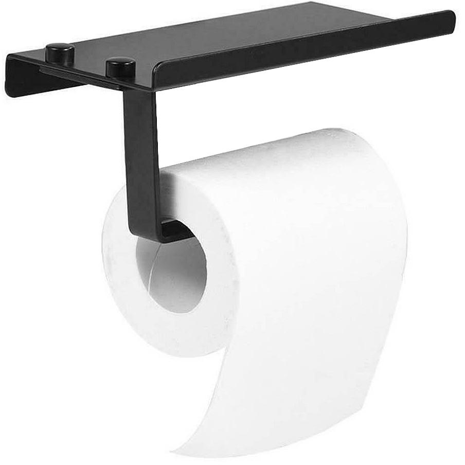 Držák na toaletní papír Rea SMART černý