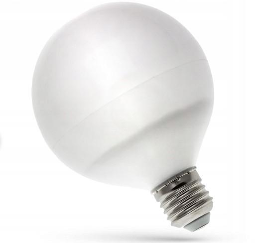 3kraft LED žárovka teplá E-27 230V 13W