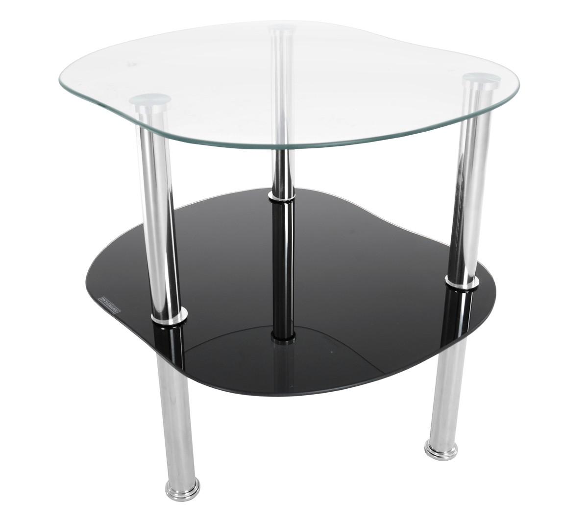 Tutumi Konferenční stolek EAGLE černý/skleněný