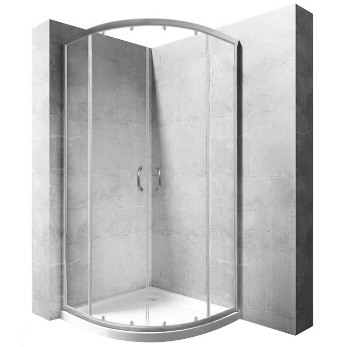 Sprchová kabina Rea Impuls Slim transparentní