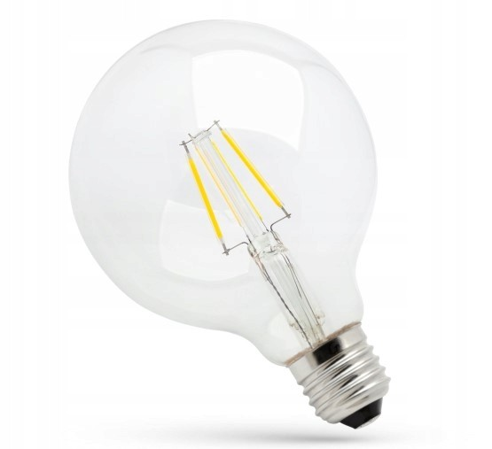 TooLight LED žárovka teplá E-27 230V 4W kulatá