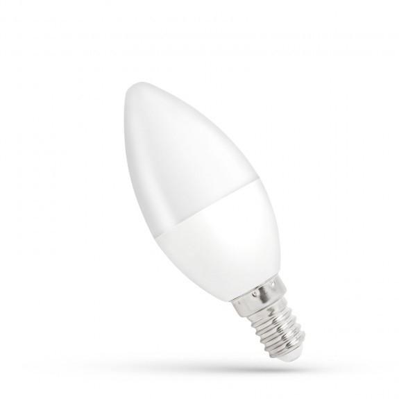 3kraft LED žárovka teplá E-14 230V 8W
