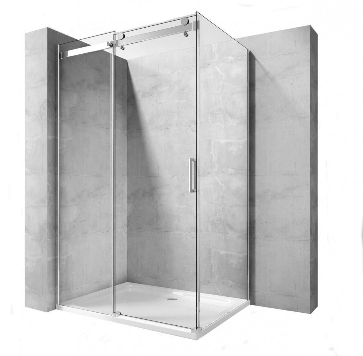 Sprchová kabina Rea Marten 80x100 cm transparentní