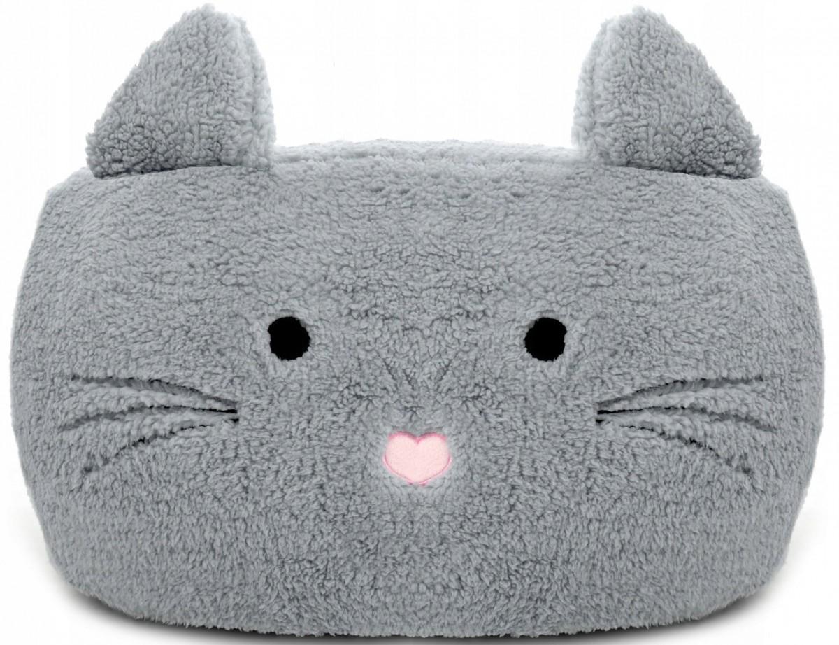Tutumi Taburet plyšový - kočka