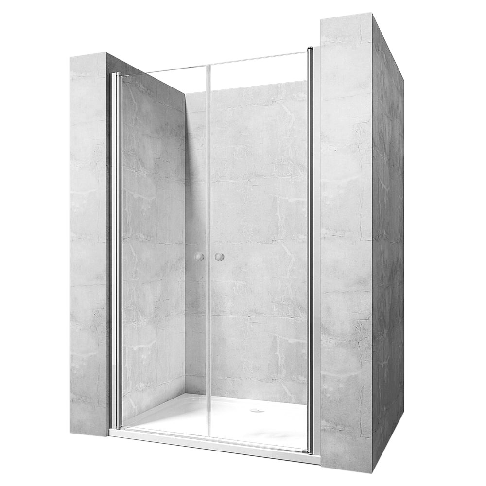 Sprchové dveře Rea Western N2 90 cm transparentní