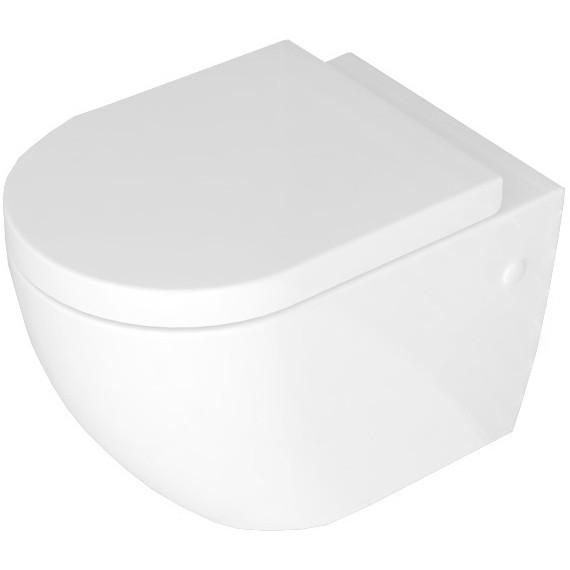 Závěsná WC mísa Rea Carlo Mini Rimless ABS