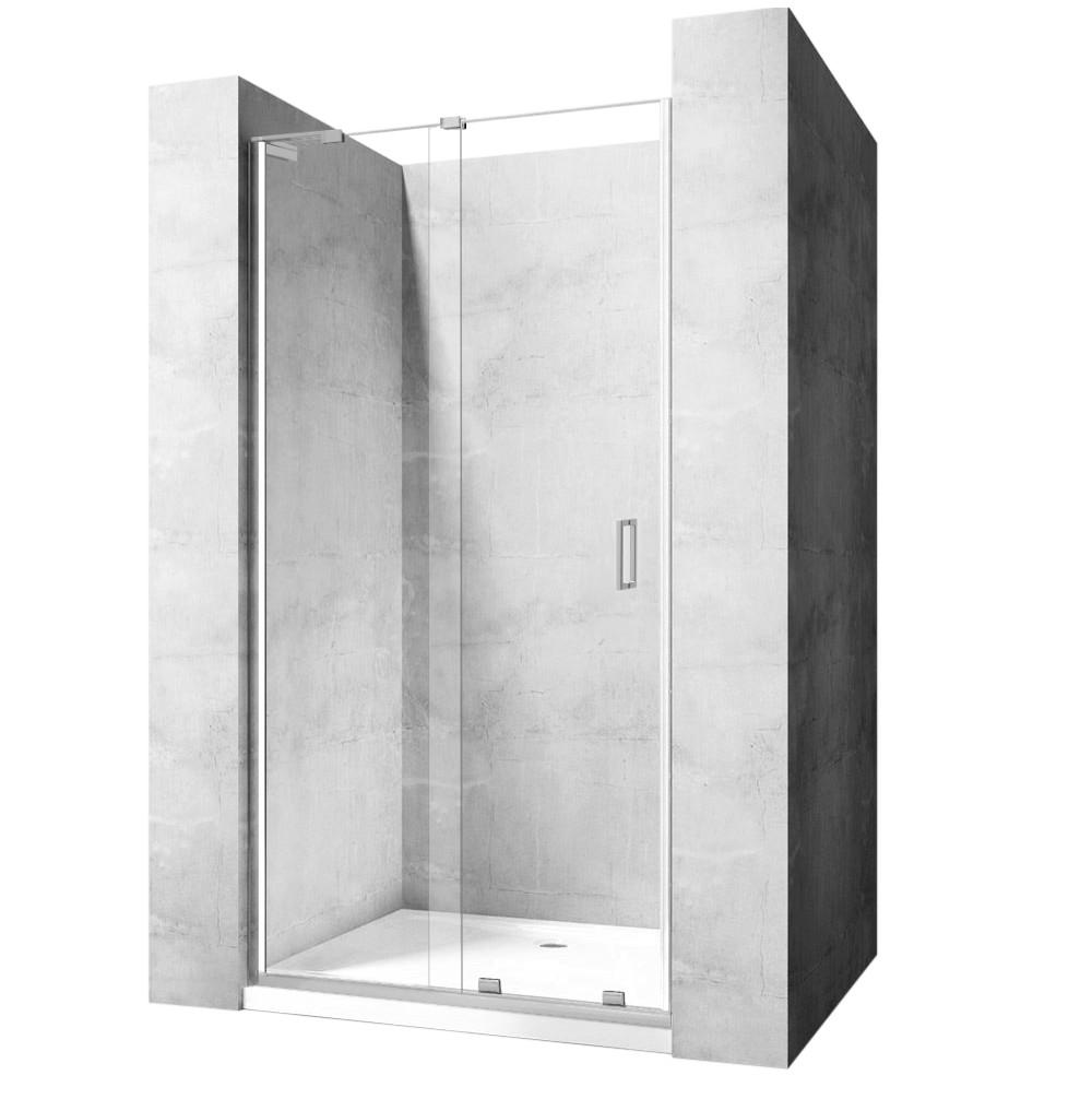 Sprchové dveře Rea Cezar 140 cm transparentní