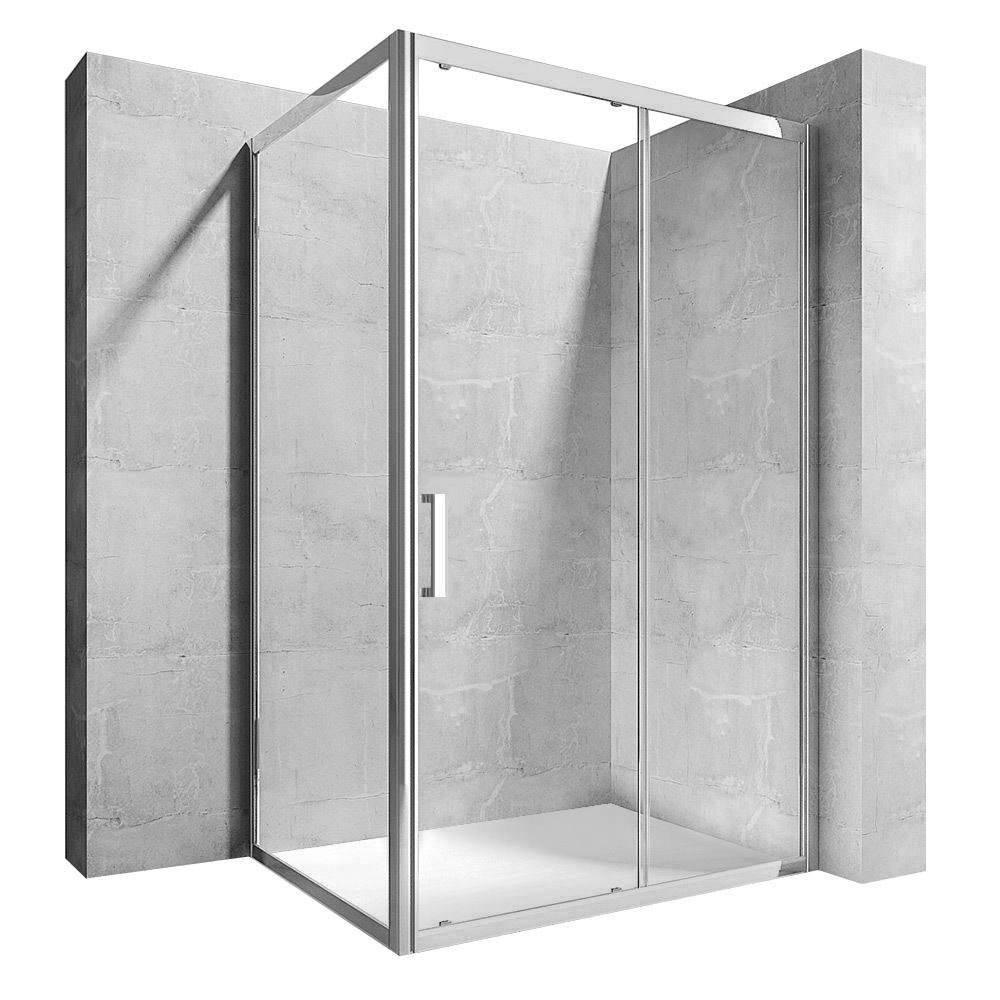 Sprchová kabina Rea Hermes 90x120 cm transparentní