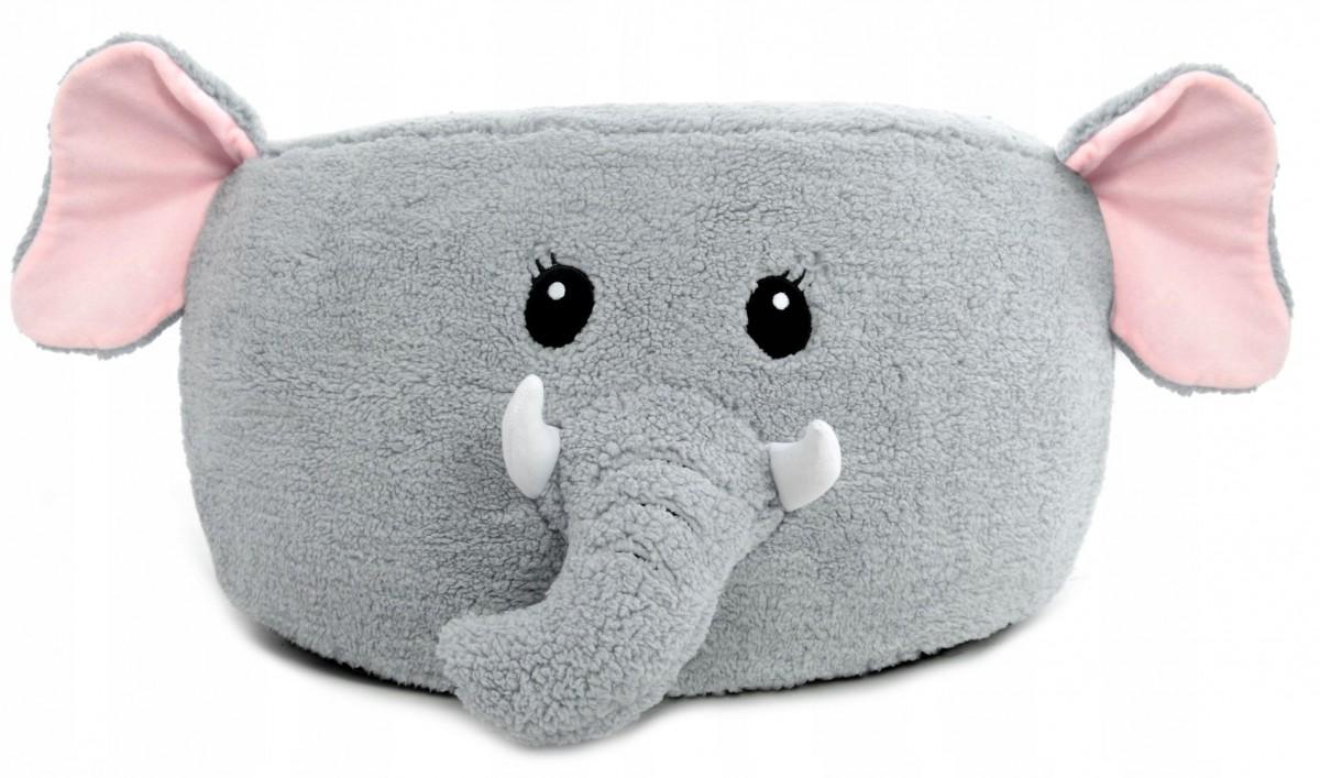 Tutumi Taburet plyšový - slon