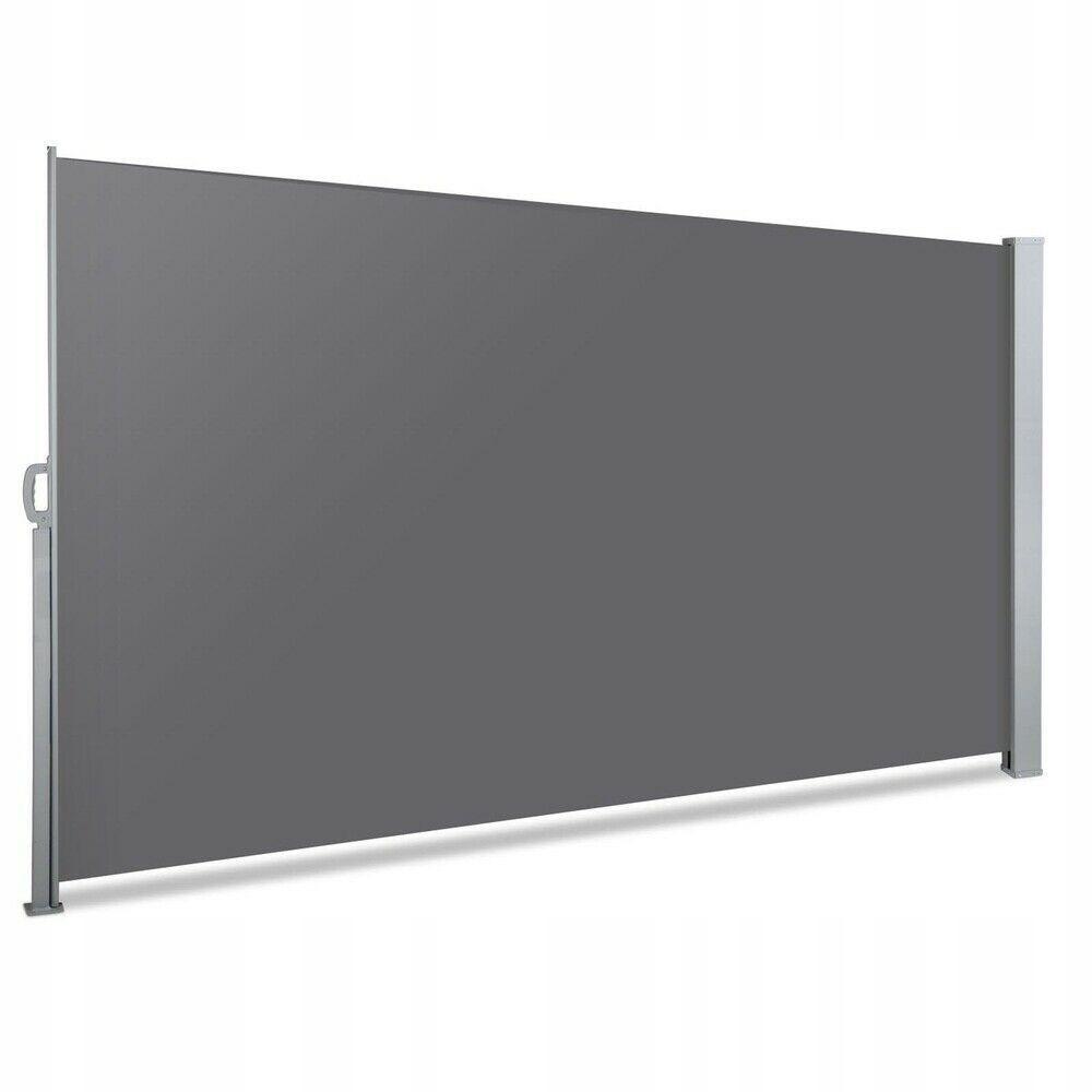 Bluegarden Markýza paravan na terasu 300x160 cm šedá