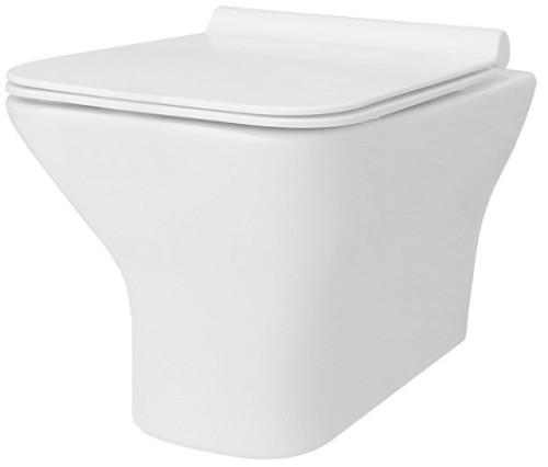 REA závěsná WC mísa Bruno Rimless bílá