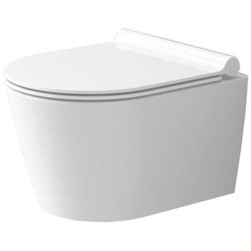 Závěsná WC mísa Rea Porter Rimless bílá