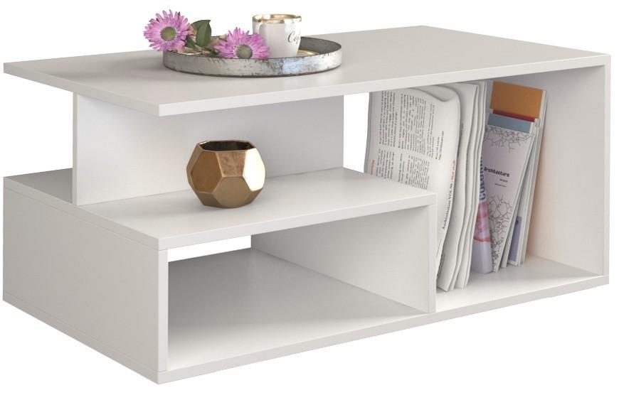 Shoptop Konferenční stolek PRIMA matně bílý