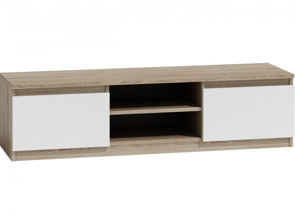 Shoptop TV stolek KARO RTV LCD 140 mix světlý dub