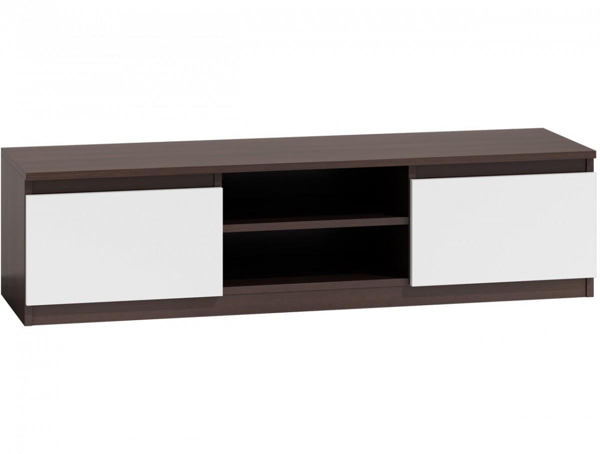 Shoptop TV stolek KARO RTV LCD 140 mix tmavě hnědý