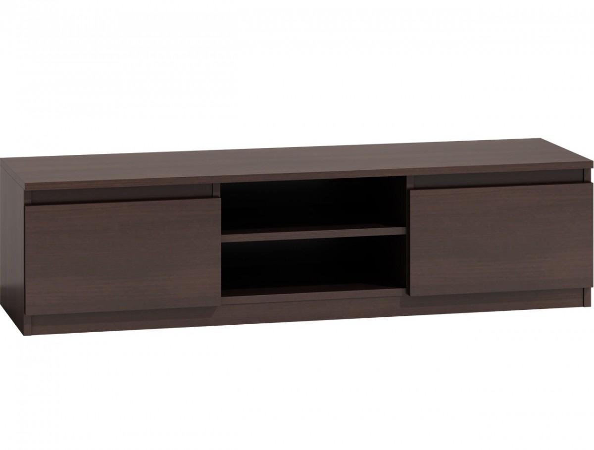 Shoptop TV stolek KARO RTV LCD 140 tmavě hnědý