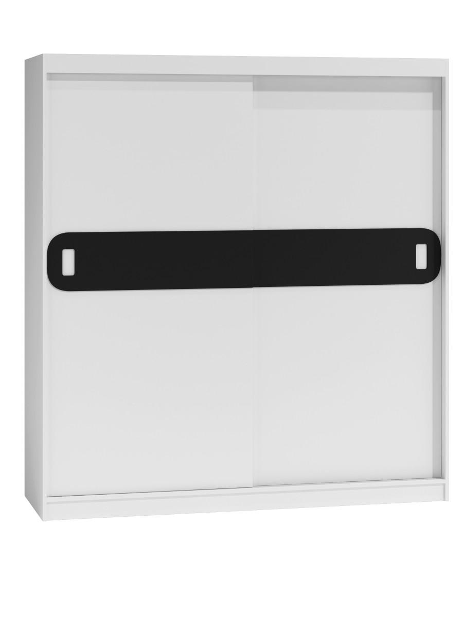 Shoptop Šatní skříň Lex - bílá