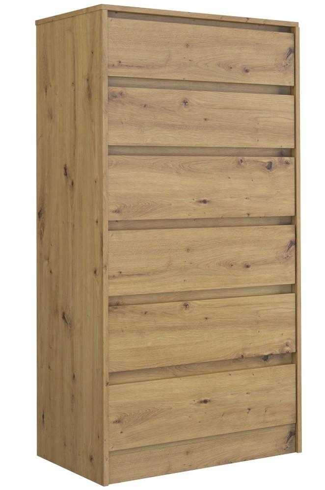 Shoptop Komoda KARO 140 cm hnědá