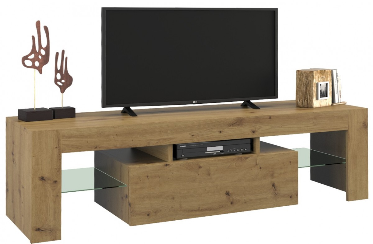 Shoptop TV stolek DEKO 140 cm dub artisan