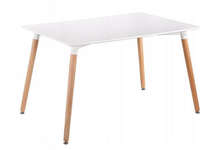MODERNHOME Moderní jídelní stůl 120x80 cm Copper bílý