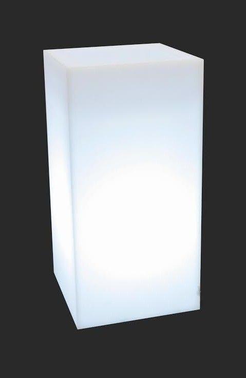 MONUMO Květináč Tower Pot s osvětlením