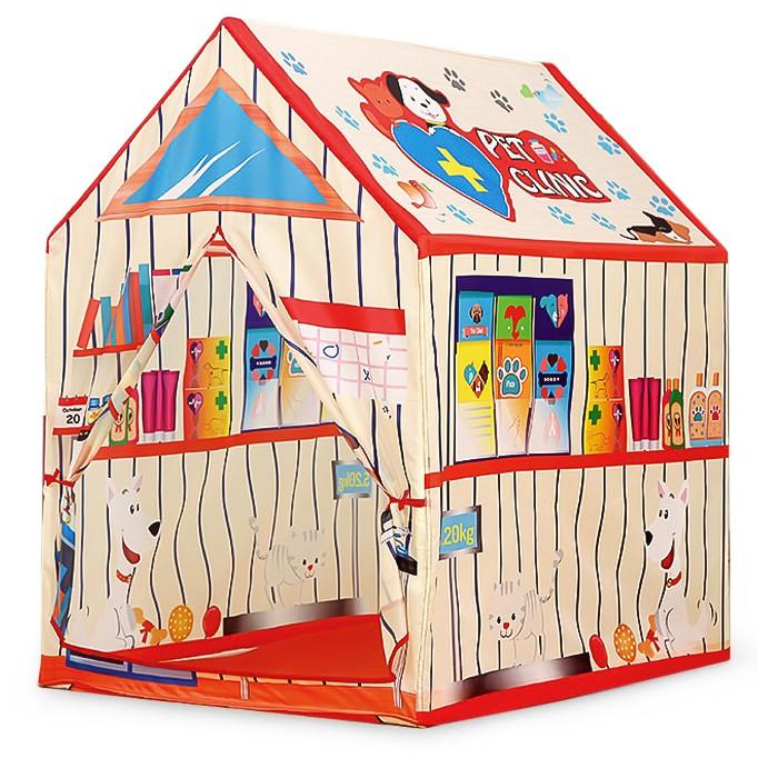 IPLAY Domek pro děti VETERINA