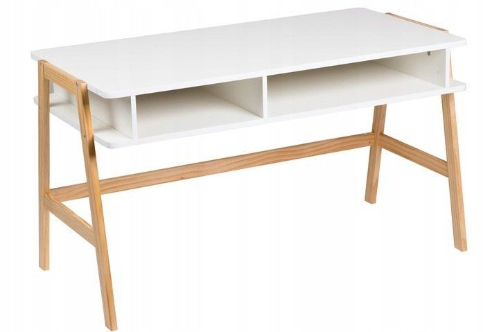 Toaletní kosmetický stolek GoodHome bílý
