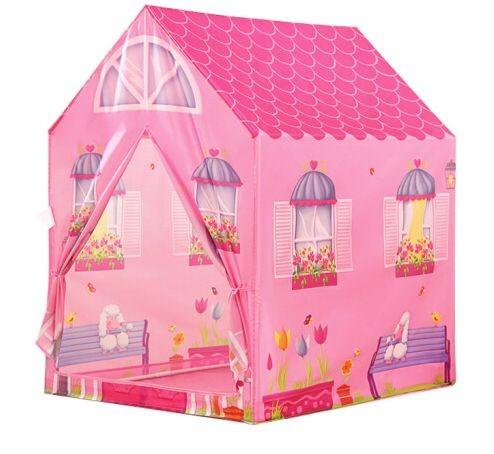 Dětský stan Růžový domeček IPLAY