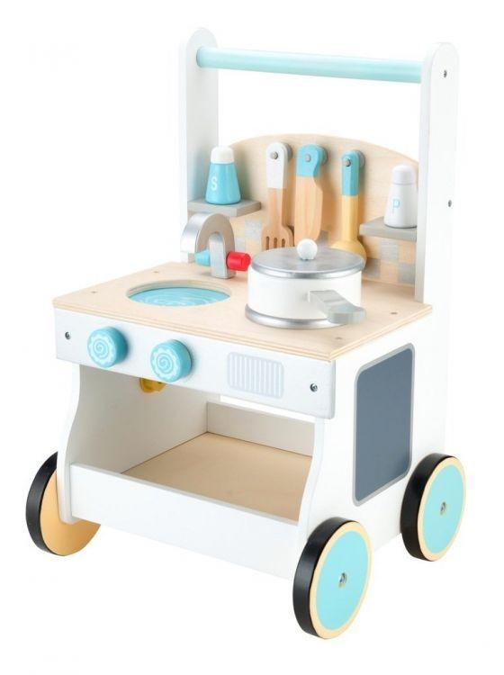 ECOTOYS Dřevěná kuchyňka pro děti