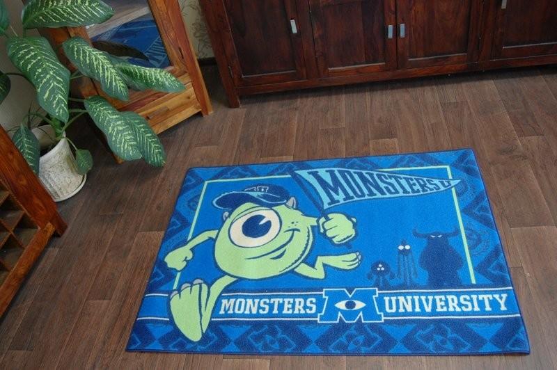 3kraft Dětský koberec DISNEY Mike Wazowski modro-zelený
