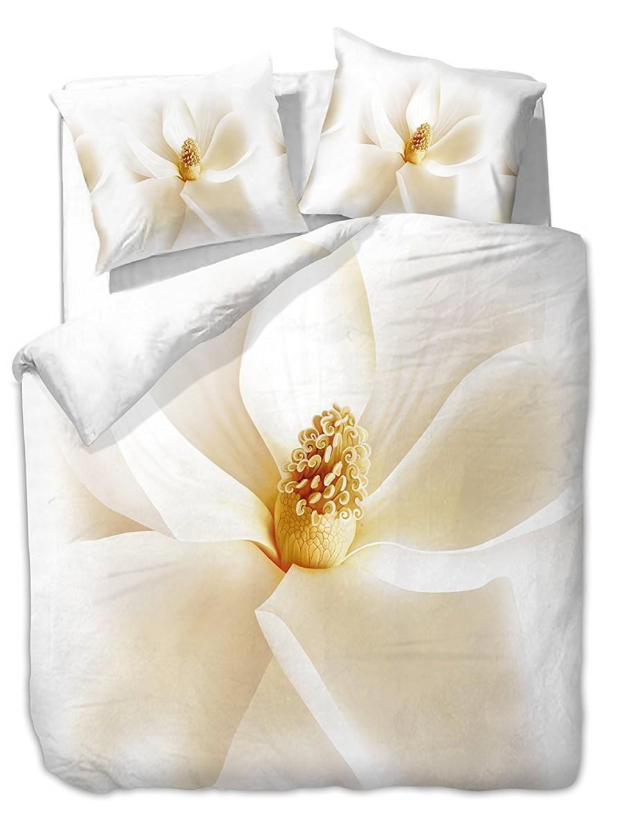 Povlečení z mikrovlákna DecoKing Orchidea bílé