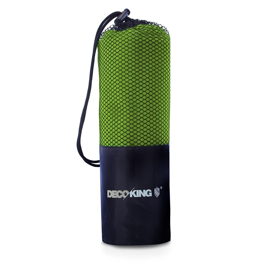 Sportovní ručník z mikrovlákna DecoKing Ekea světle zelený