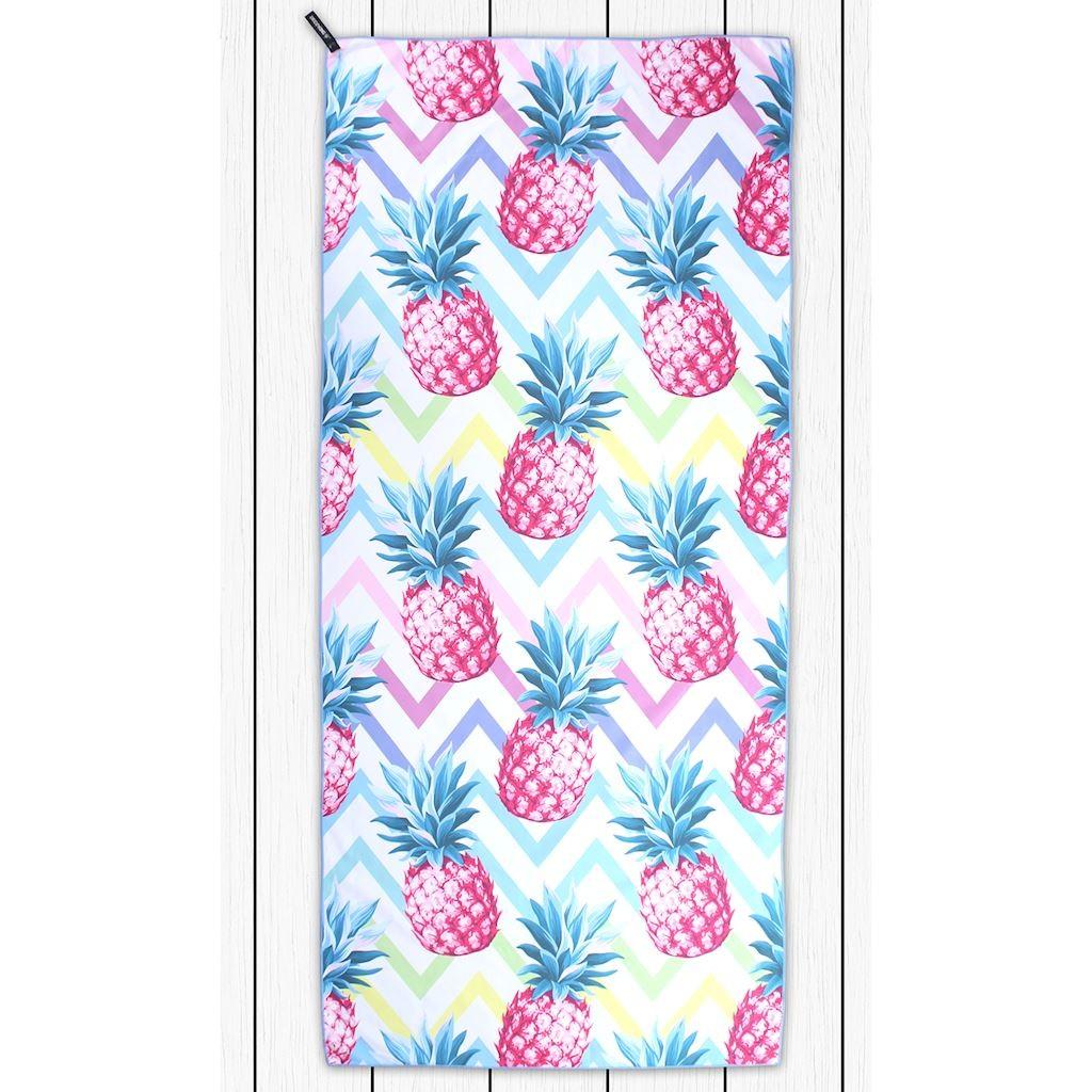 Osuška z mikrovlákna DecoKing Pineapple barevná