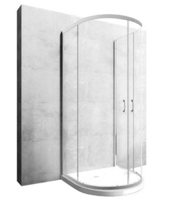 REA Sprchová kabina Romance 3 transparentní