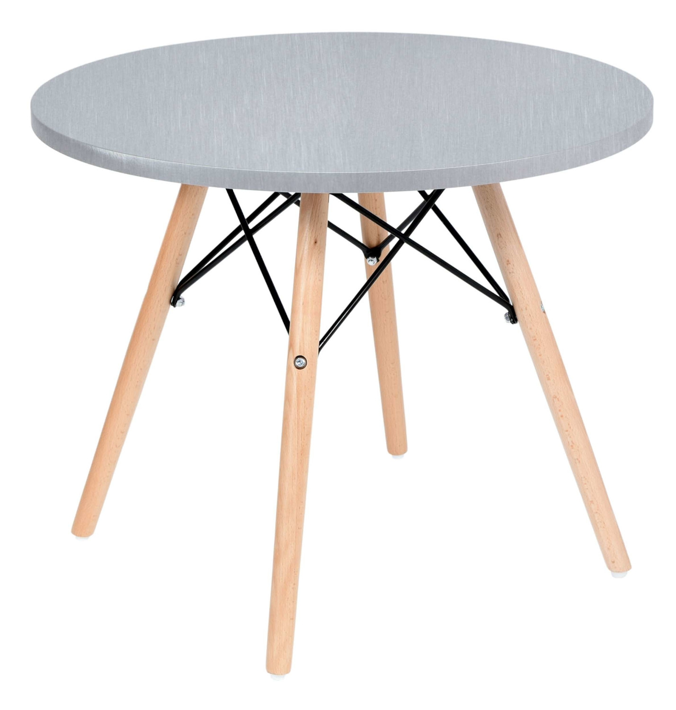 TZB Kulatý konferenční stolek PARIS šedý