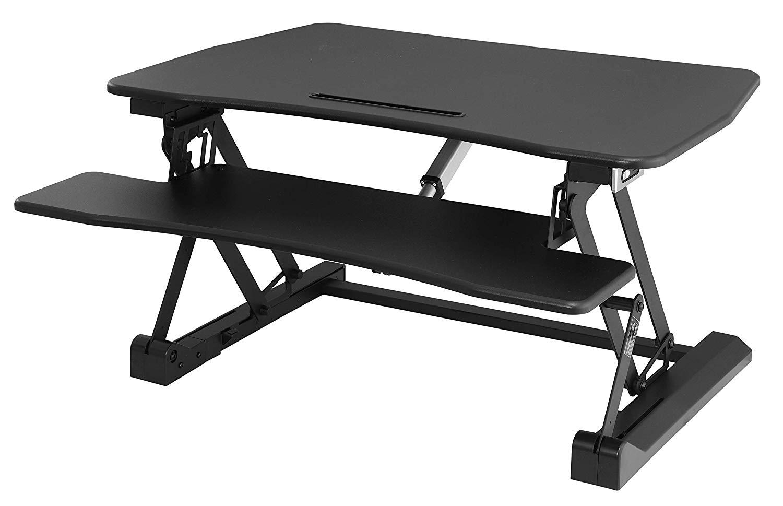 Rongomic Výškově nastavitelný elektrický stůl SKU Hayden černý