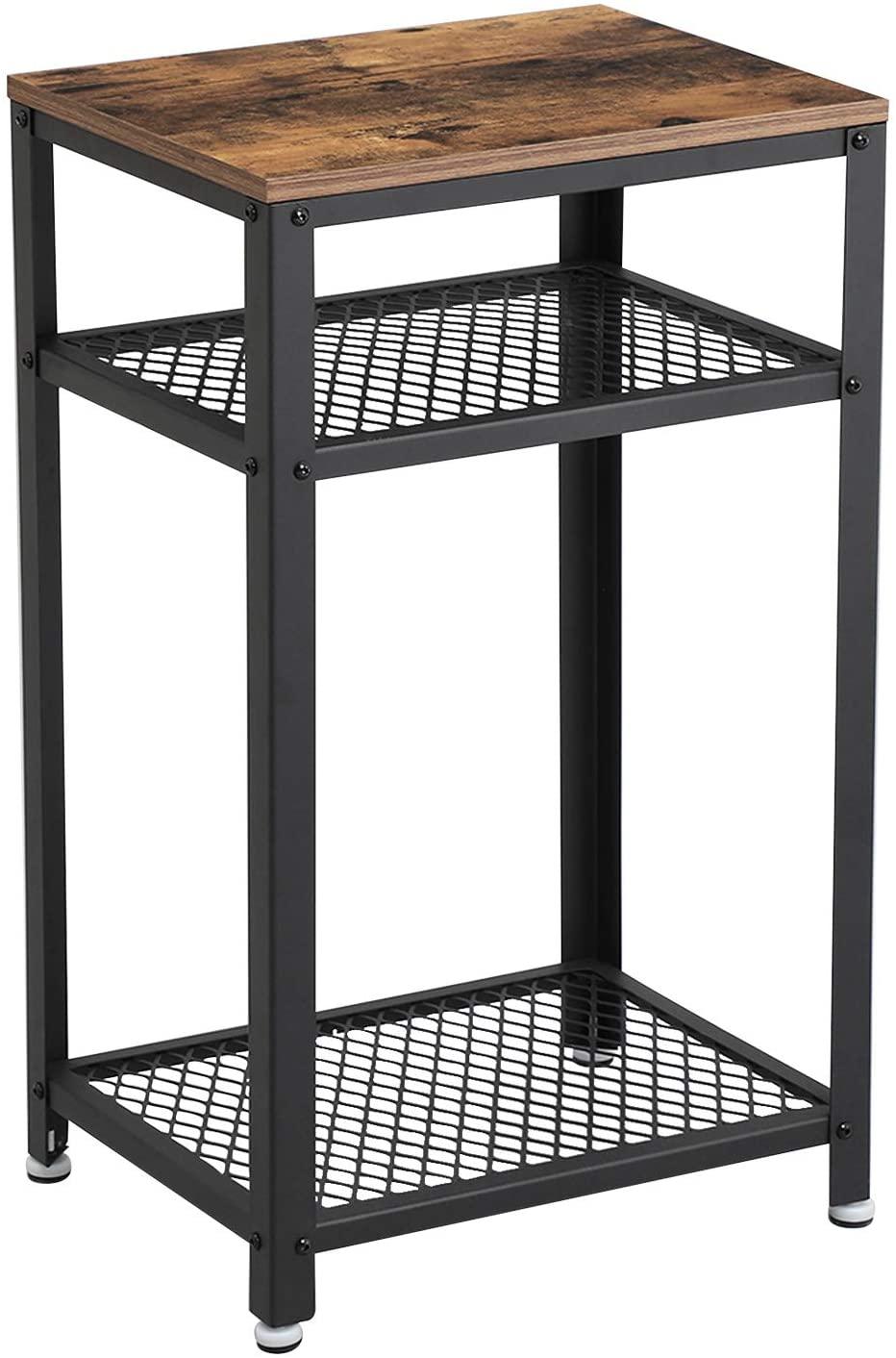 Rongomic Noční stolek VASAGLE Fex hnědý